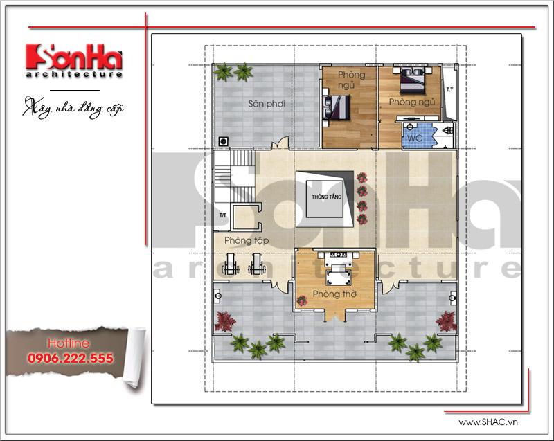 Ra mắt mẫu thiết kế showroom 3 tầng kết hợp nhà ở cao cấp tại Quảng Ninh – SH SR 0020 7