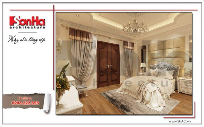 mẫu phòng ngủ kiểu cổ điển dành cho con gái