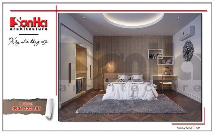 Phòng ngủ ấn tượng tại nhà phố cổ điển tầng sh nop 0127