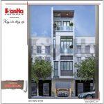 Mẫu thiết kế nhà phố 4 tầng hiện đại mới nhất tại Hà Nội SH NOD 0164