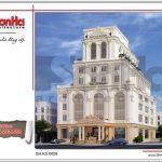 Mẫu thiết kế tổ hợp khách sạn nhà hàng trung tâm tổ chức sự kiện tại Quảng Ninh sh ks 0029 2