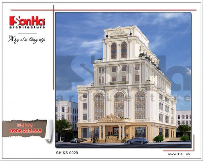 Tổ hợp khách sạn nhà hàng và trung tâm tiệc cưới, tổ chức sự kiện mang kiến trúc Châu Âu bề thế tại tỉnh Quảng Ninh