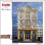 Thiết kế khách sạn cổ điển sang trọng tại Lào Cai sh ks 0028 2