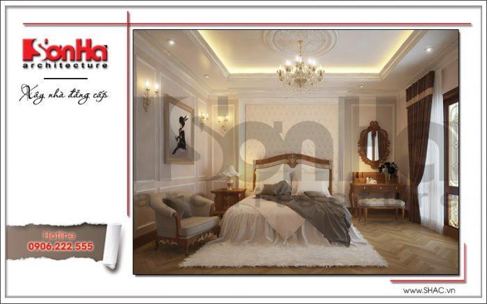 thiết kế phòng ngủ đẹp và sang trọng kiểu pháp