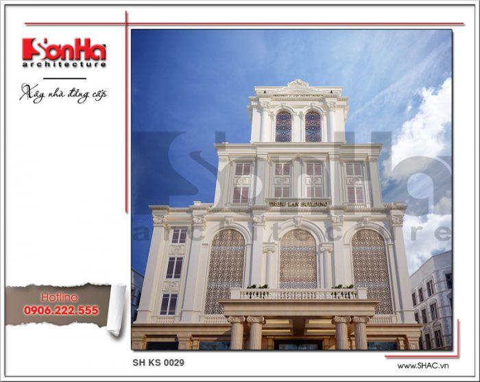 Thiết kế tổ hợp khách sạn nhà hàng trung tâm tổ chức sự kiện tại Quảng Ninh sh ks 0029 2