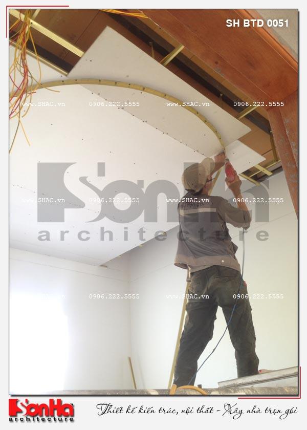 Biệt thự hiện đại 2 tầng đẹp điển hình xu hướng mới tại Hải Phòng - SH BTD 0051 20