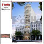 Mẫu thiết kế khách sạn mini kiến trúc cổ điển Pháp sh ks 0027 2