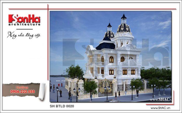 Mẫu thiết kế biệt thự lâu đài phong cách cổ điển châu Âu chinh phục mọi ánh nhìn CĐT