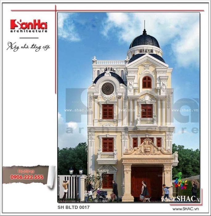 Công trình xây dựng thiết kế và thi công biệt thự lâu đài tại Bà Riạ - Vũng Tàu bởi SHAC