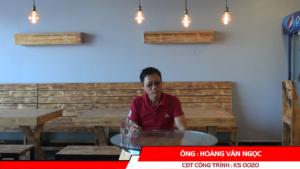 Phát biểu của CĐT Hoàng Văn Ngọc - khách sạn cổ điển (Cát Bà) 18