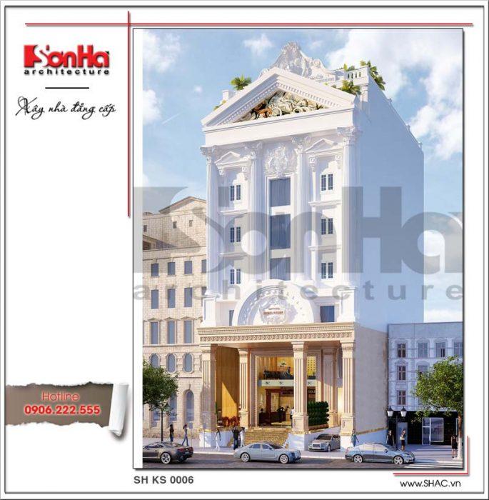 Khách sạn 7 tầng một mặt tiền - ks 0006 2