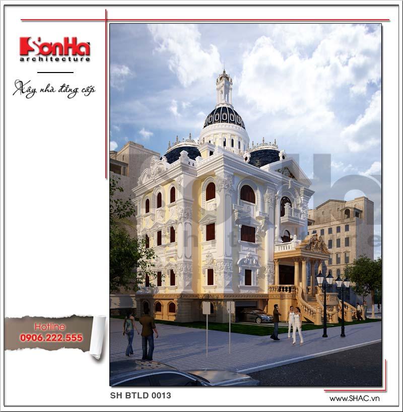 Điểm lại những thiết kế biệt thự lâu đài cổ điển để đời của SHAC 1