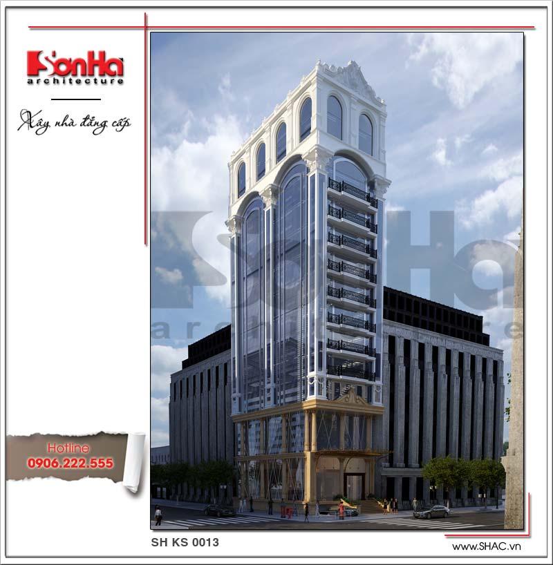 Khách sạn 3 sao 16 tầng