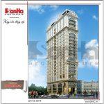Kiến trúc ngoại thất khách sạn 4 sao - ks 0014 2