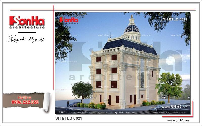 xây biệt thự lâu đài cổ điển tại hà nội