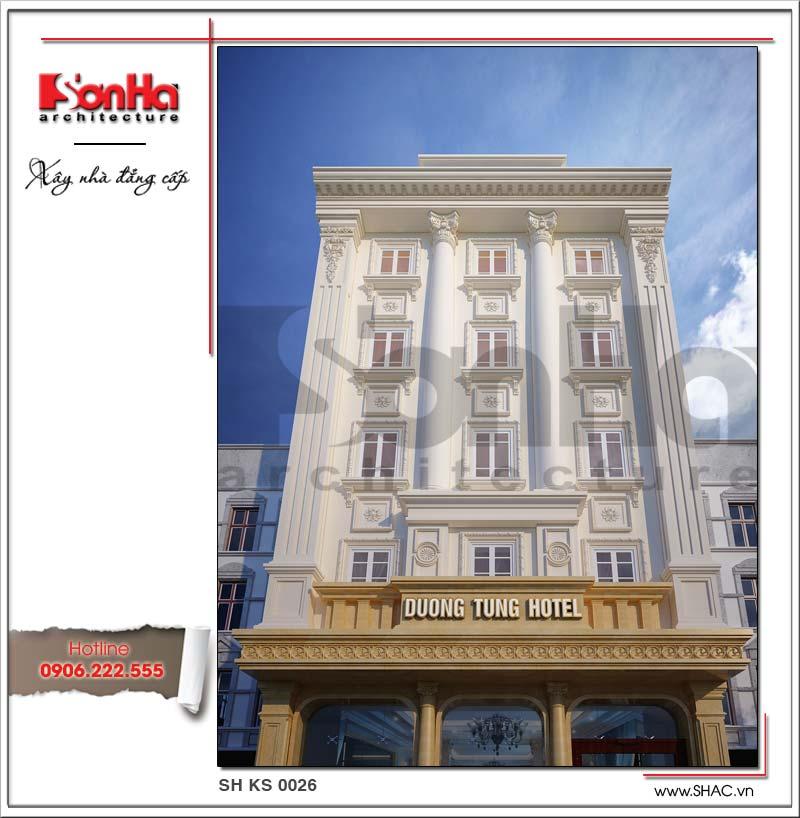Các đường nét tinh tế có chiều sâu có yếu tố quan trọng làm nên thành công của khách sạn 3 sao