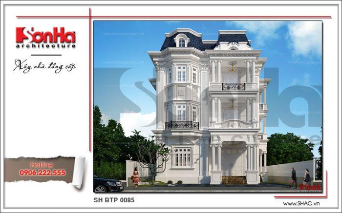 Ngôi biệt thự cổ điển Pháp 3 tầng màu trắng này đã làm dậy sóng dư luận Hà Nam và toàn quốc