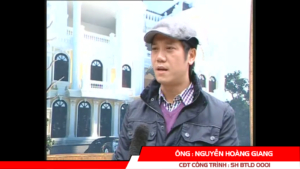 """Phát biểu của CĐT Nguyễn Hoàng Giang - Biệt thự cổ điển """"Sao Tuyết"""" 17"""