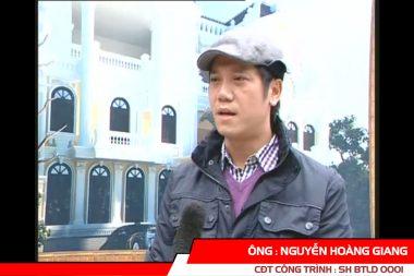 """Phát biểu của CĐT Nguyễn Hoàng Giang - Biệt thự cổ điển """"Sao Tuyết"""" 5"""