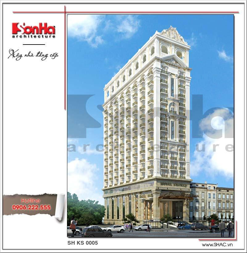 Khách sạn 17 tầng đẹp