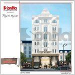 Phối cảnh khách sạn 3 sao tại Sài Gòn - ks 0009 2
