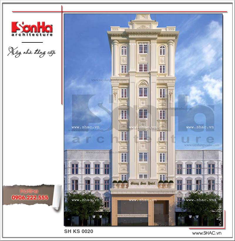 Đây cũng là một trong những điển hình nổi bật của thiết kế khách sạn 3 sao cổ điển đẹp nhất năm