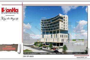 Phương án 4 của tòa nhà có thiết kế thông thoáng sh vp 0023 2