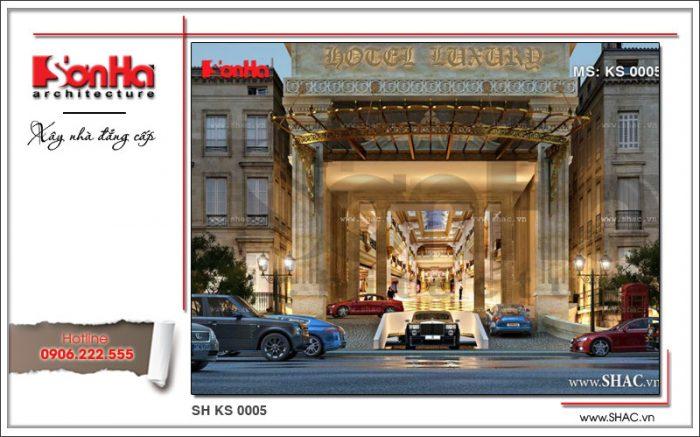 Những phương án thiết kế sảnh khách sạn bắt mắt và lịch thiệp của SHAC luôn được Quý khách hàng đánh giá rất cao