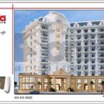 Thiết kế khách sạn 5 sao sang trọng sh ks 0023 2