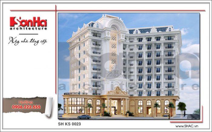 Công trình thiết kế khách sạn 5 sao 12 tầng đẳng cấp tại Phú Quốc – Kiên Giang mang thương hiệu SHAC uy nghi, lộng lẫy với diện tích xây dựng 1560m2
