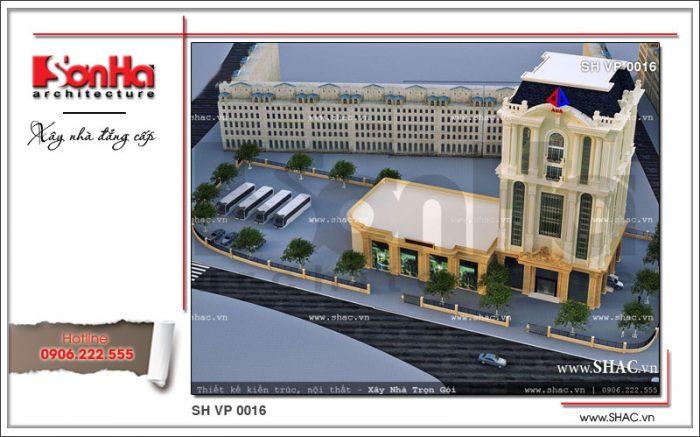 Mẫu thiết kế tòa nhà cho thuê làm văn phòng công ty SHAC đã để lại dấu ấn sâu sắc trên cả nước