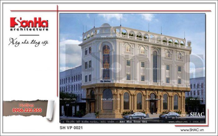 Một trong những tòa nhà cho thuê văn phòng kiến trúc cổ điển Pháp được đề xuất cho CĐT Hà Nội
