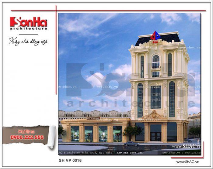 Cận cảnh các đường nét tinh tế và hợp thời của mẫu thiết kế văn phòng cao tầng đẹp của SHAC