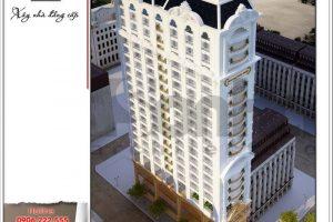 Tổng quan kiến trúc ngoại thất khách sạn - ks 0014 2