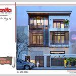 Thiết kế biệt thự hiện đại tại Quảng Ninh sh btd 0054