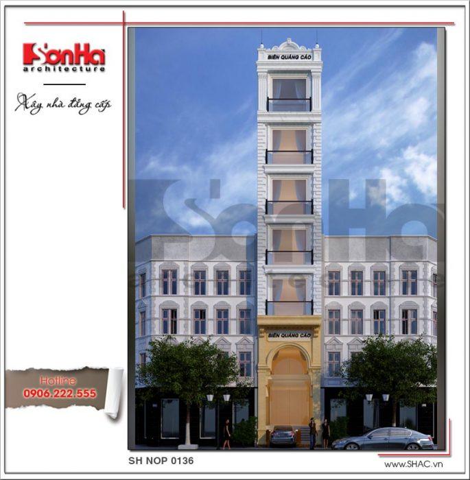 Nhà phố cổ điển 7 tầng kết hợp kinh doanh tại Sài Gòn sh nop 0136