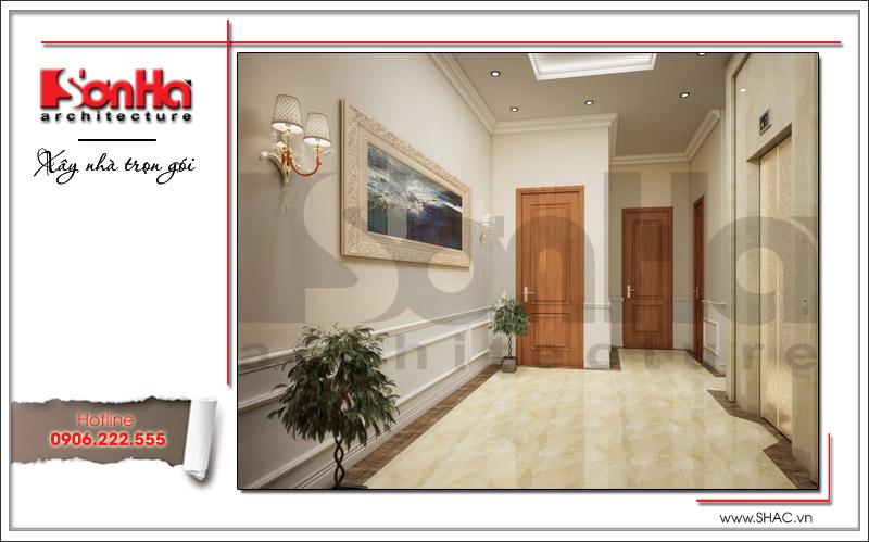 Thiết kế biệt thự 3 tầng tân cổ điển đẹp tại Quảng Bình - SH BTP 0099 13