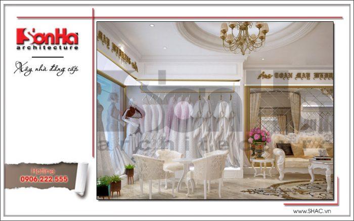 Mẫu nội thất phòng váy cưới tại Hưng Yên