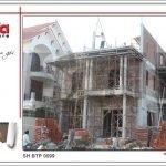Thiết kế biệt thự 3 tầng tân cổ điển đẹp tại Quảng Bình - SH BTP 0099 26