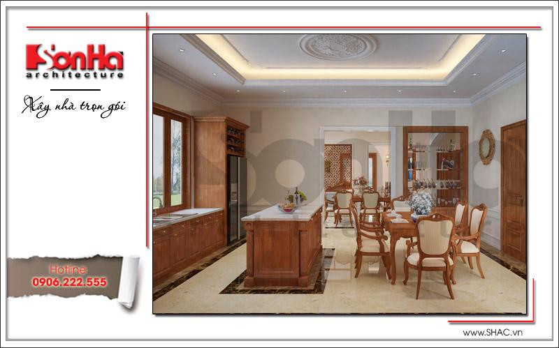 Thiết kế biệt thự 3 tầng tân cổ điển đẹp tại Quảng Bình - SH BTP 0099 5