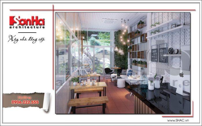 Nội thất quán cafe đẹp 163 Nguyễn Đức Cảnh Hải Phòng sh bck 0042