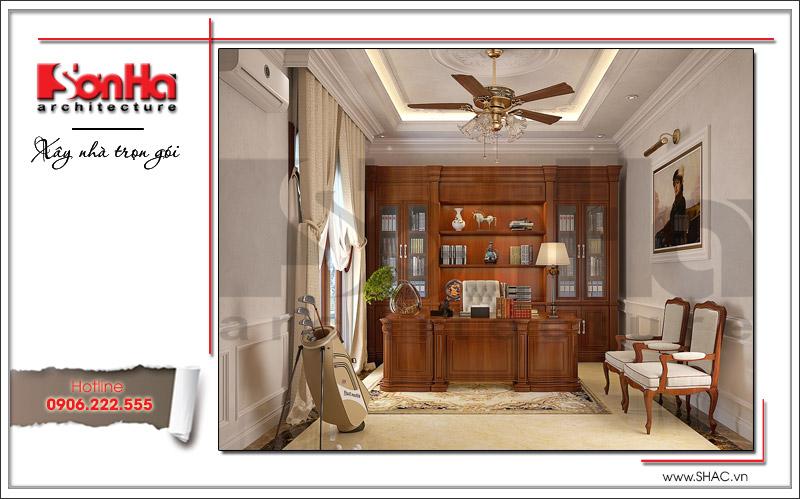Thiết kế biệt thự 3 tầng tân cổ điển đẹp tại Quảng Bình - SH BTP 0099 10