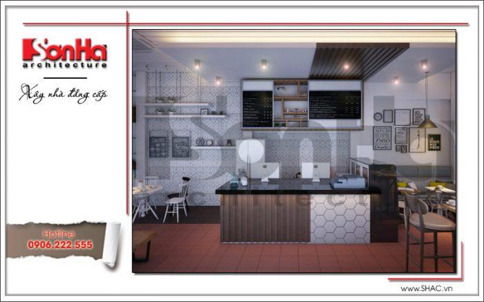 Nội thất quán cafe phong cách hiện đại 163 Nguyễn Đức Cảnh Hải Phòng sh bck 0042