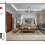 7 mẫu nội thất phòng sinh hoạt chung tầng 3 biệt thự sang trọng sh btp 0099