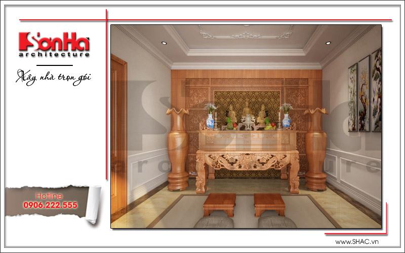 Thiết kế biệt thự 3 tầng tân cổ điển đẹp tại Quảng Bình - SH BTP 0099 11