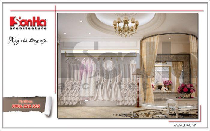 Nội thất phòng váy cưới tại Hưng Yên