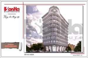 BÌA Thiết kế kiến trúc khách sạn cổ điển sh ks 0033