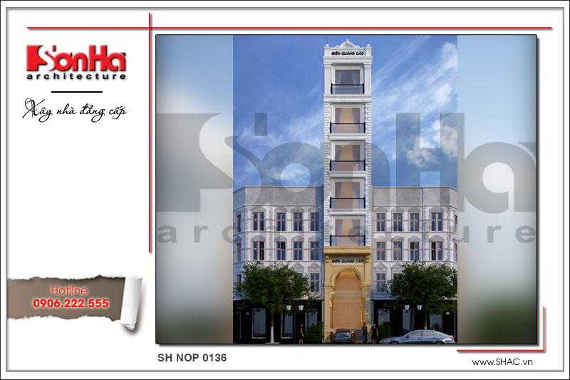 BÌA Nhà phố cổ điển 7 tầng kết hợp kinh doanh tại Sài Gòn sh nop 0136