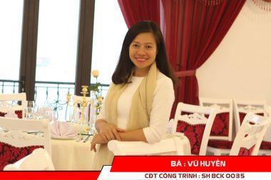 Phát biểu của CĐT Vũ Huyền - nhà hàng cổ điển tại Quảng Ninh 4