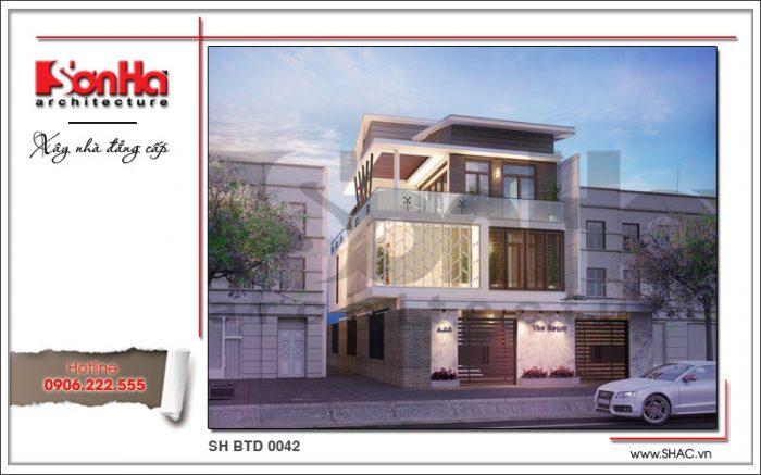 Công trình xây dựng thiết kế và thi công biệt thự hiện đại tại Điện Biên bởi SHAC